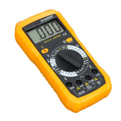 Dt9205A+ 직업적인 멀티미터 LCD 디지털 전류계 전압계 저항 용량 볼트 옴 멀티미터 소형 검사자 미터