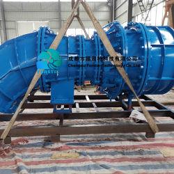 물 수력 전기 발전소를 위한 사나운 와동 터빈