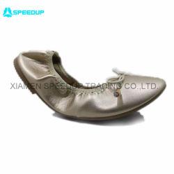 Le chaud et mieux vendre ballerine de repliage à plat Chaussures de Danse occasionnels