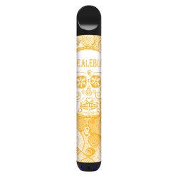 지팡이 처분할 수 있는 Vape 가장 새로운 대중 음악 둥근 처분할 수 있는 E 담배