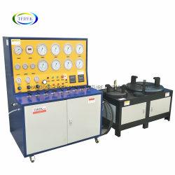 DN10-DN400 Visor digital inteligente, instrumento de pressão pneumática de controle da válvula de alívio de segurança do equipamento de teste para a calibração