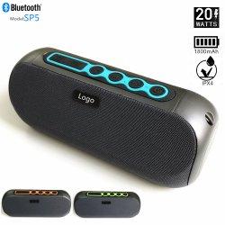 Best-seller de plein air un son stéréo portable Mini enceintes sans fil Bluetooths Le Président : le soutien de TWS Puissance de sortie : 20 W (10W*2)