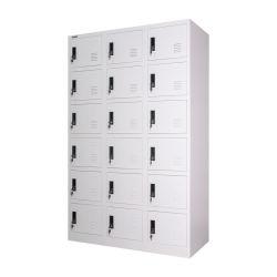 18 Tür-Stahlschließfach-Antike-Schließfächer für Verkauf