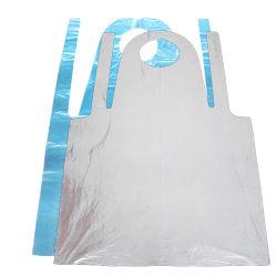 Commerce de gros personnel portatif de nettoyage de la protection en plastique jetables tabliers PE