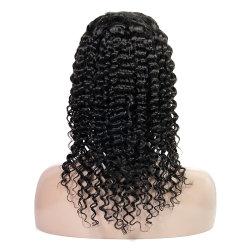 아기 머리카락이 있는 손 모양 유리 없는 풀 끈