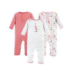 Barato Bonitinha unissexo bebé bebé fatos-macaco de algodão
