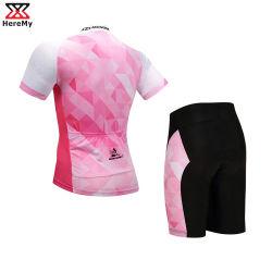 Sublime personalizado de alta calidad de manga corta Coolmax Ciclismo Jersey/Bicicleta ropa/desgaste ciclismo