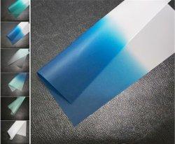 Em azul claro 0,76 mm de butiral de para-brisas automático