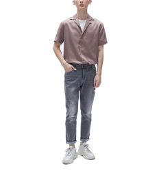 Wholesale personalizada OEM personalizado Camiseta de alta calidad para hombres moda para hombres camisetas camiseta de los hombres de seda rosa