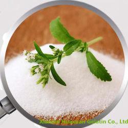 Zucchero granulato bianco di Stevia dall'estratto del foglio di Stevia