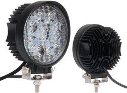 Hochleistungs--Qualitätsleistungsfähiger runde oder quadratische ultra nicht für den Straßenverkehr Flut-Träger-Arbeits-heller Stab des Lampen-Auto-LKW-ATV 27W 9 LED