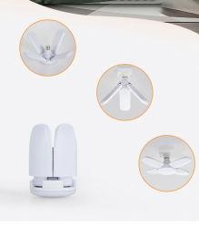 [بست-سلّينغ] [لد] بصيلة مروحة ورقة يطوي مصباح لأنّ إستعمال داخليّة