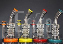 Esigo Hookah 도매 보편적인 유리제 창조적인 연기가 나는 담배 수관