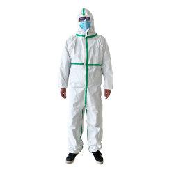 Lokalisierungs-Kleid-Overall-Wegwerfschutzkleidung-Sicherheits-Wegwerfoverall