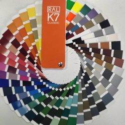 مسحوق لون معدني للعلبة 9006 للعلبة من نوع RAL 9006