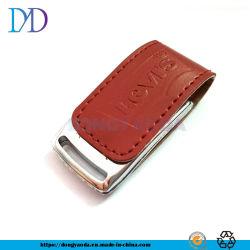 Unidade Flash USB de couro 4 GB 8 GB de 16GB, 32GB USB 2.0