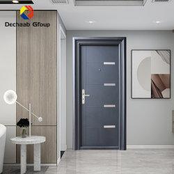 Moderne Sicherheit Edelstahl Eisen Tür für Eingang Hauptmetall Tür