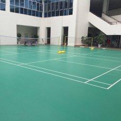 El 15% 0FF! Suelos deportivos; esponja de PVC Piso badminton, baloncesto, tenis, voleibol