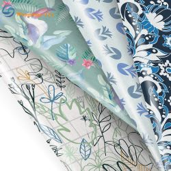 Doublure en polyester imprimé/Impression Home Textile pour un canapé-Rideau meubles JACQUARD Tissu Bedsheet