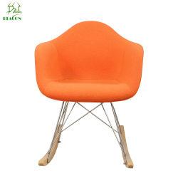 De AchterSchommelstoel van het Aluminium van de Zitkamer van Herman Miller Rar Rocker Fiberglass van Eames