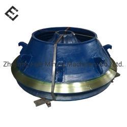 Meilleure résistance à l'usure pour concasseur à cônes de contre-batteur