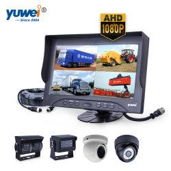 Sistema della macchina fotografica di Rearview dell'automobile con lo schermo di Quadrato-Vista di 9-Inch Digitahi