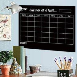 Grand Calendrier mensuel de tableau blanc Planner autocollant magnétique