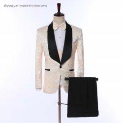 Ropa de moda las prendas de vestir traje a medida adaptados trajes de los hombres de esmoquin Blazer