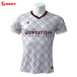 Corps de forme de gros Aibort Sublimation Shirts définit le soccer (Soccer 42)