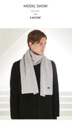 El hombre de alta calidad 100%Lana Cashmere tejer una manta Bufanda de Invierno 3