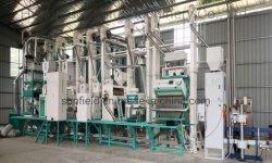 30 T/D Planta de molino de arroz de maquinaria agrícola