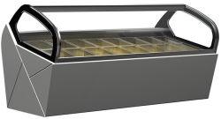 Gelato écopant congélateur Popsicle réfrigérateur d'affichage de la crème glacée (QV-BB-8)