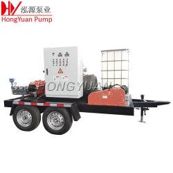 히터 교환기 청소 고품질 물 분사 3중 플런저 펌프
