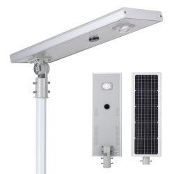 Sensor de Movimento do Interruptor Automático Inteligente de Energia Solar Luz LED 30W Rua solar integrada para o farol de estrada de Jardim