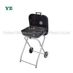 Griglia da barbecue in carbone da 46 cm con gamba pieghevole