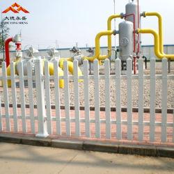 O PVC/Vinis /Plastic Picket Painel cerca para jardim e área residencial