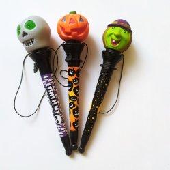 عيد القديسين مهرجان نقطة لعب القلم عطلة هدية قرطاسية مضحكة قلم