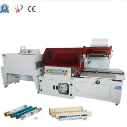 Film 또는 Wallpaper/Filter Automatic L Type Sealer Sealing POF Film Shrinkable Shrink Packing/Packaging/Wrapping/Wrap/Wrapper/Packer/Package Machine를 보호하십시오