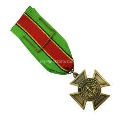 Fabricante de Alibaba Metal personalizada Personalized campeonato mundial de las artes marciales premio medalla de plata (88)