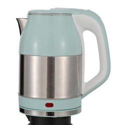 На заводе здорового питания прозрачных электрических Teapot многофункциональных двойные стенки пластмассовой крышки нержавеющая сталь внутренний корпус Teapot