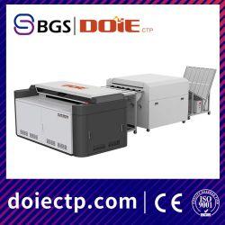 Tamanho A1 Alta resolução de grande formato para impressão em offset tipo térmica CTP Preço da Máquina