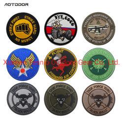 Zoll personifizierte Militärband-Marke kundenspezifische Firmenzeichen Identifikation für mehrfache Kleidungs-Beutel-Weste-Umhüllungen-Arbeits-Hemden