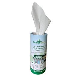 Vérin de promotion de la boîte de dialogue personnalisée les mouchoirs de papier Papier 2 & 3 plis ultra-doux matériau de pâte de bois vierge