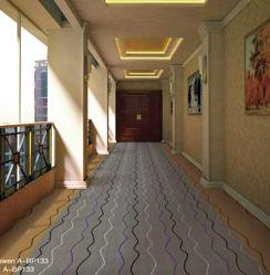 商業ナイロンおよびウールによって編まれる房状のカーペット
