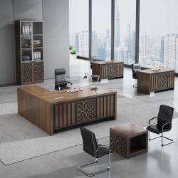 Mobilia di legno della Tabella di lavoro dell'ufficio del gestore di lusso esecutivo moderno esclusivo dello scrittorio