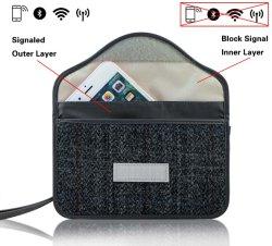 패러데이백 휴대 전화 GPS RFID 신호 차단 백카 키 리모컨 보호장치 파우치 프라이버시 보호 파우치 추적 방지