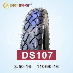 오토바이 부품 Suzuki Gn125 H 오토바이 타이어 및 튜브 110/90-16 TT/TL 패턴 DS107 타이어