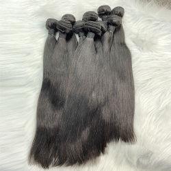 중국 위그 인간 머리카락 확장 큐티클 - 브라질 버진 헤어 블랙 여성용 헤어 번들 인도 헤어 제품