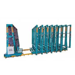 Systeem van het Rek van het Glas van de Opslag van het Pakhuis van het staal het Elektro voor Glasfabriek
