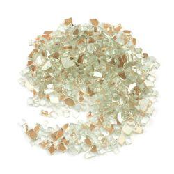 Ventes chaud tous les côtés Miroir Surface en argent plaqué tous les côté miroir doré Terrazzo verre pilé